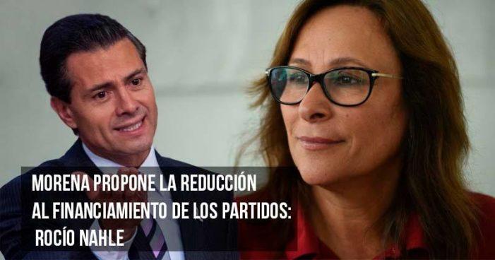 Peña miente se requieren 302 mmdp para reconstruir al país: Morena (video)