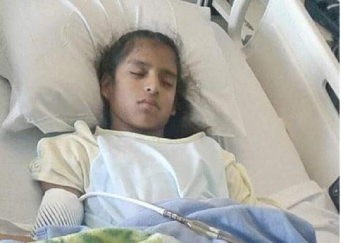 Piden liberación para niña migrante con parálisis cerebral detenida por la migra en Texas