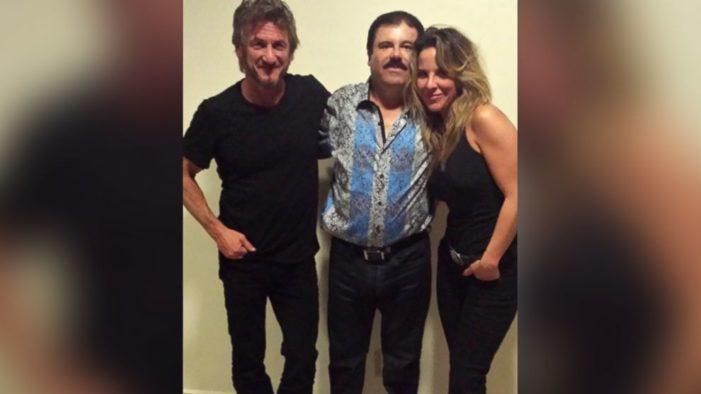 Sean Penn responsabiliza de su vida a Netflix por serie 'El Chapo' de Kate del Castillo
