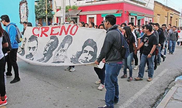 Miles de integrantes de la sección 22 en Oaxaca; anunciaron jornada de lucha