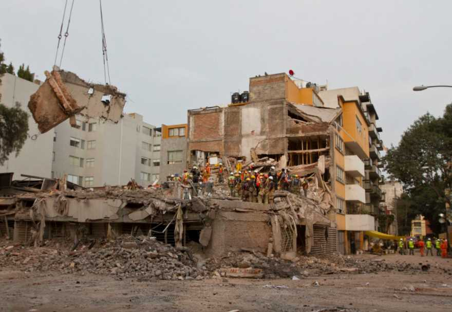 Preparan en CDMX demolición de otras 211 construcciones dañadas por sismo
