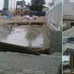 Después del 19S, constructoras siguen destrozando la Delegación BJ; ahora provocan socavón