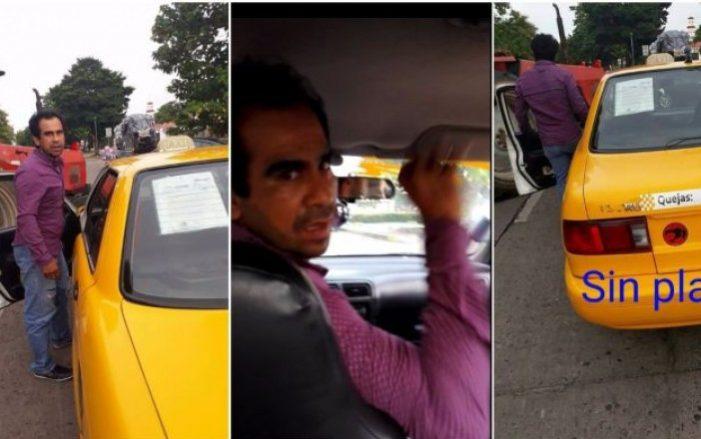 Taxista 'pirata' agrede a mujer por no traer cambio (VIDEO)