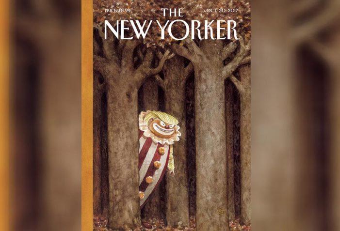The New Yorker retrata a Donald Trump como un 'payaso peligroso'