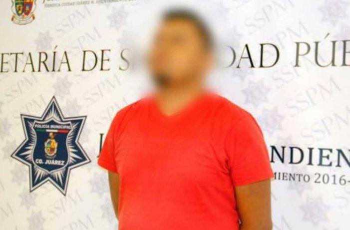 Detienen a chofer de Uber en Cd. Juárez por posesión de cocaína