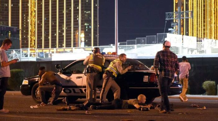 Habrían abatido al sospechoso del tiroteo en Las Vegas, según la policía