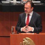 México no reconocerá la independencia de Cataluña: Videgaray