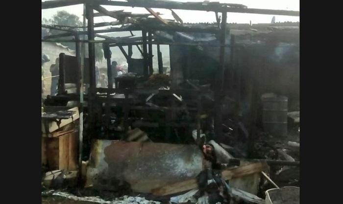 Dos niños murieron calcinados al incendiarse su vivienda