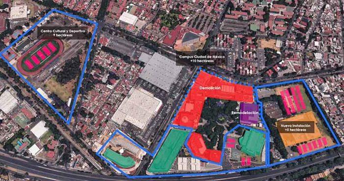 Autoridades del Tec de Monterrey plantean demoler plantel de Ciudad de México y reconstruirlo