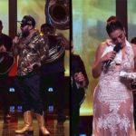 Comediantes Omar Chaparro y 'El Ezequiel' humillan y toquetean a Cecilia Galliano (Video)