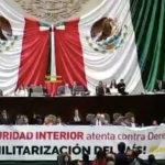Van senadores de Morena y opositores contra Ley de Seguridad Interior