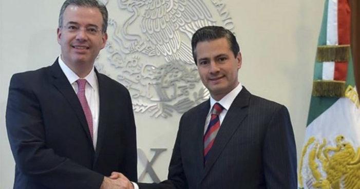 Peña designa a Alejandro Díaz de León nuevo gobernador de Banxico