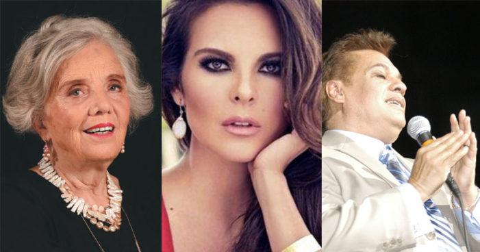 Poniatowska, Juan Gabriel y Kate del Castillo, candidatos para la Belisario Domínguez