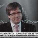 Carles Puigdemont a RT: 'Debemos tener confianza y ser fuertes, porque ganaremos'