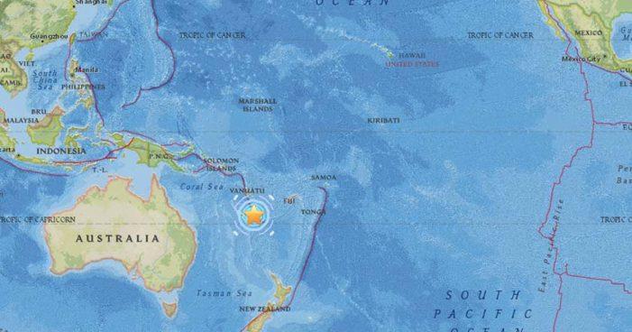 Fuerte actividad sísmica en Nueva Caledonia, Pacífico: 15 temblores y réplicas