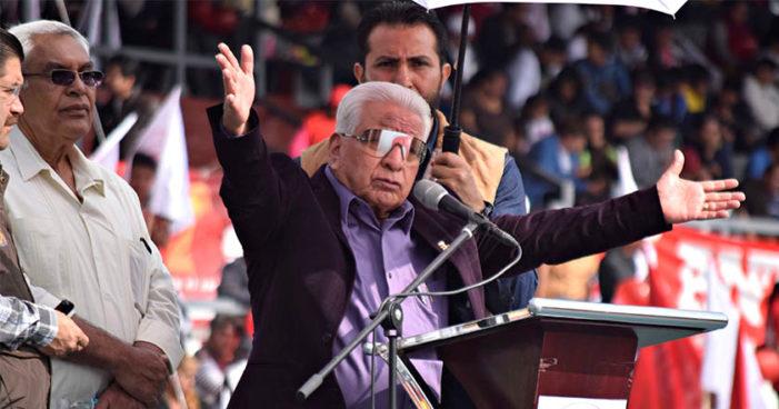 Romperá Antorcha Campesina con PRI y creará partido político propio