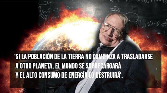 Stephen Hawking advierte el fin del mundo en menos de 600 años