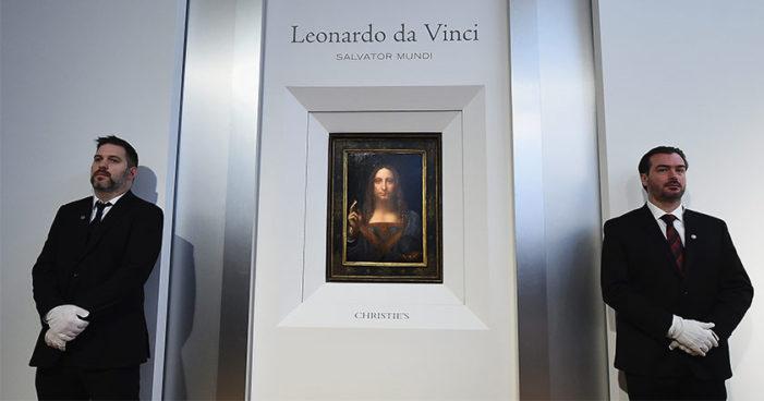 Subastan en 450 mdd cuadro de Leonardo da Vinci, el 'Salvator Mundi'