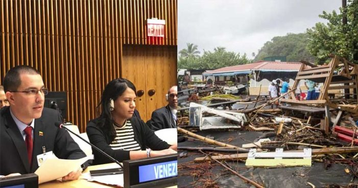 Venezuela perdona la deuda de Dominica tras quedar devastada por huracán