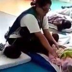 En guardería de Aguascalientes golpeaban a niños para dormirlos (VIDEO)