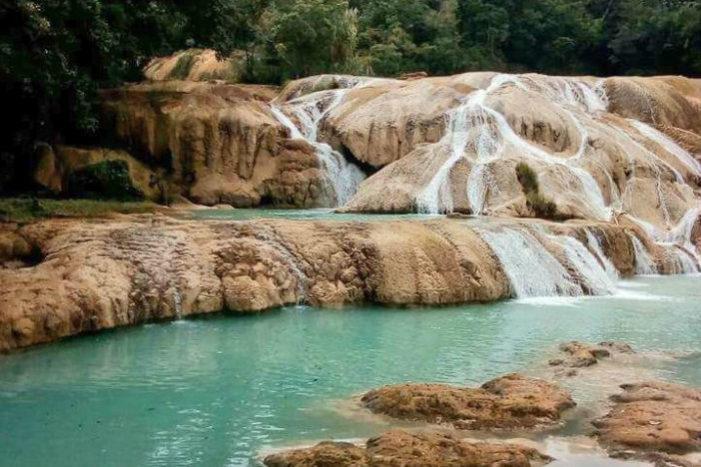 Cascadas de Agua Azul 'se secan', se investiga la causa