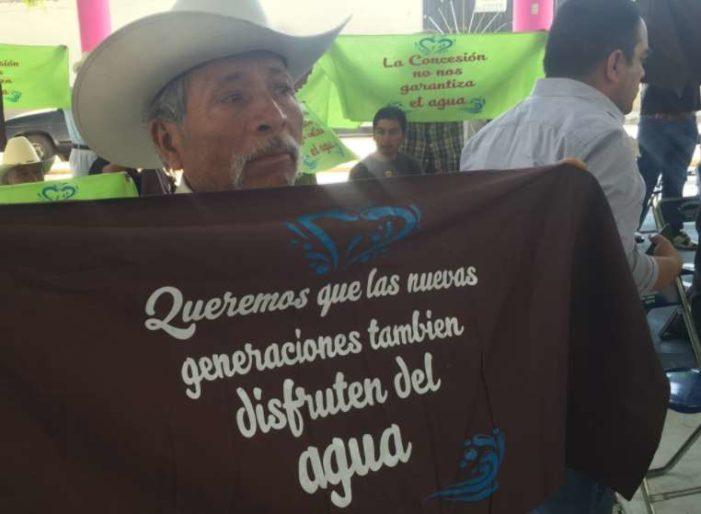 Conagua prohíbe a comunidades zapotecas decidir sobre uso de su agua