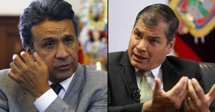 Partido gobernante de Ecuador destituye a Lenín Moreno como líder, 'es un traidor' dice Correa