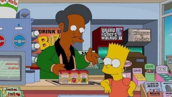 Arremete comunidad India en EU contra Apu de Los Simpson