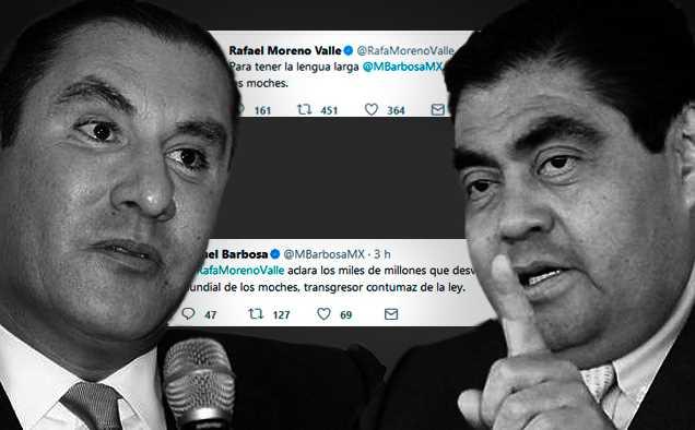 Barbosa promete cárcel para Moreno Valle en caso de ganar Puebla