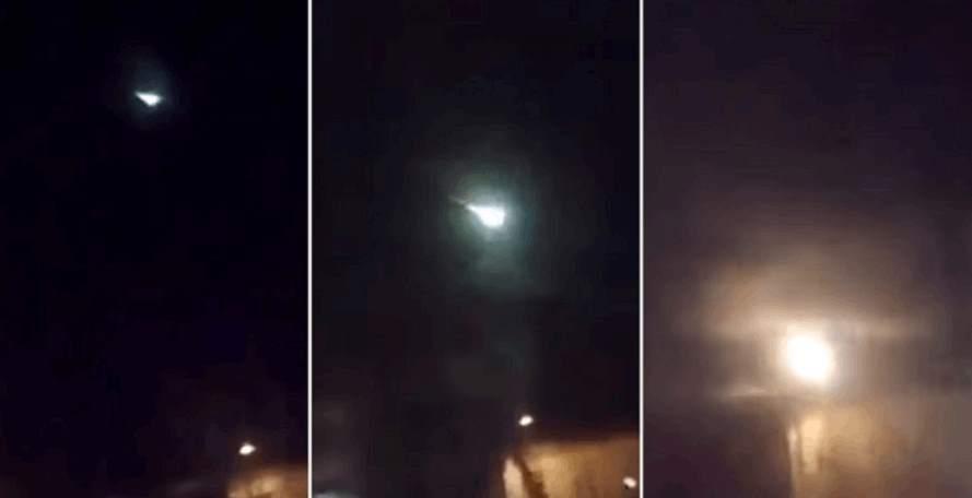 Videos: misteriosa bola de fuego iluminó el cielo de Japón