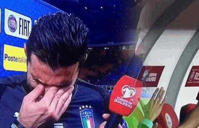 Gianluigi Buffon, llora luego de que Italia quedara fuera del mundial (VIDEO)