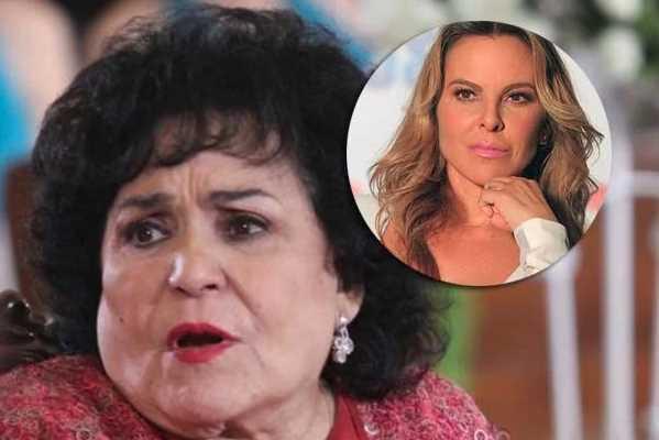 Carmen Salinas arremete contra Kate del Castillo, asegura que 'ya la tienen demandada'