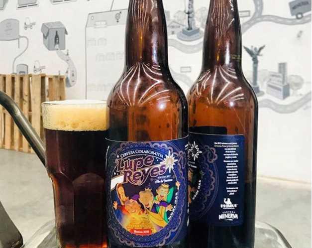 Lanzan cerveza artesanal con etiquetas de los presidenciables para el Guadalupe-Reyes