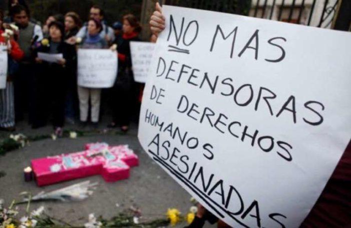 A diario ocurren ataques contra defensoras de DDHH en México