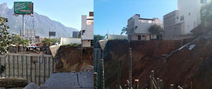 Personas atrapadas tras derrumbe en Lázaro Cárdenas y Río Nazas en Monterrey