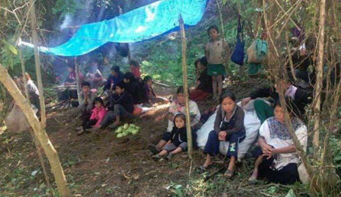 Fallecen por frío y hambre niños y adultos desplazados por paramilitares en Chiapas