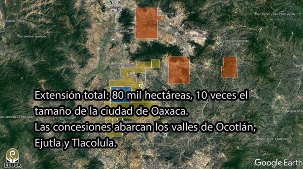 Minera canadiense ha despojado de 80 mil hectáreas a indígenas de Oaxaca