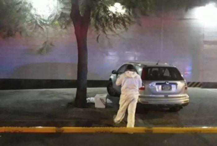 Dejan hielera con dos cabezas humanas y mensaje del CJNG frente a Televisa Guadalajara