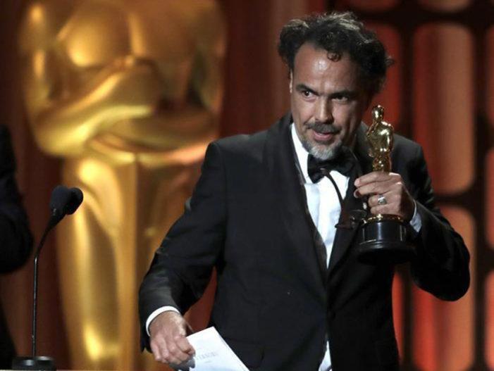 Iñárritu gana Óscar por 'Carne y Arena' y lo dedica a los inmigrantes del mundo