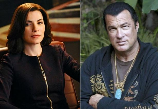 julianna margules Steven Seagal