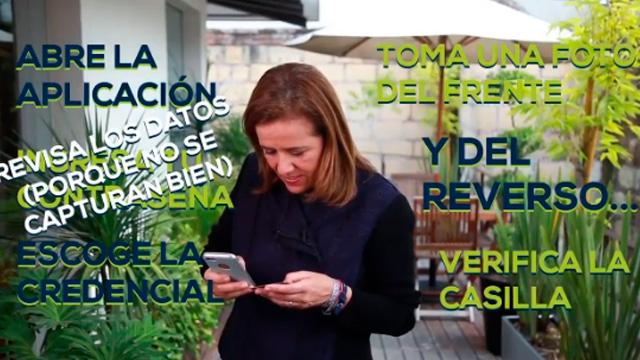 Margarita Zavala se burla de la app del INE, así no puede recabar firmas