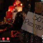 Armaron ofrenda para víctimas de feminicidios y se la robaron en Michoacán
