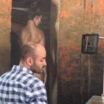Pintor tapatío conquista con sus desnudos hiperrealistas
