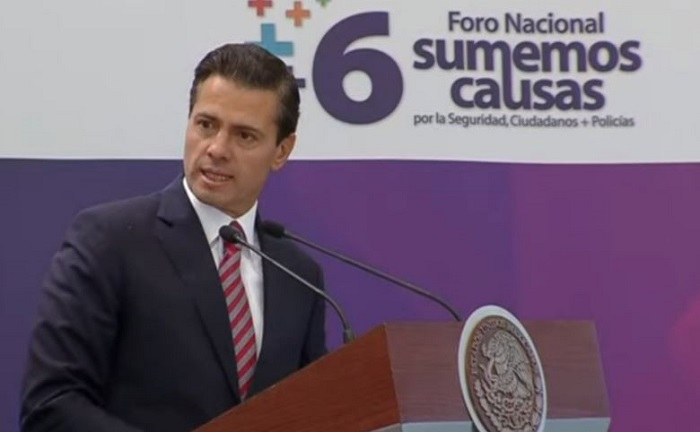 Sociedad sólo se queja y hace 'bullying' al gobierno: Peña Nieto (VIDEO)