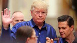 'El muro es el muro y México lo pagará', reitera Trump