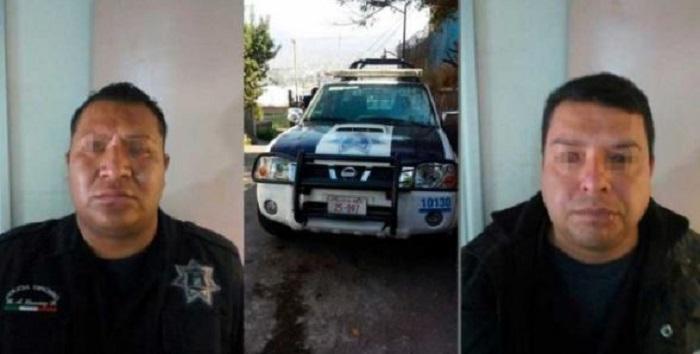 Detienen a tres policías del Edomex por extorsionar a albañiles