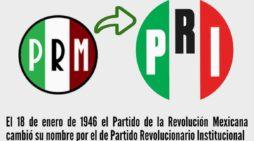 El PRI, ¿hijo de la Revolución?