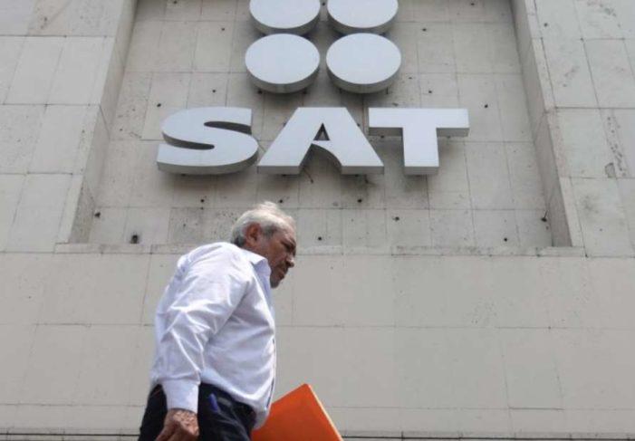 En tres años, SAT devolvió un billón 345 mmdp a grandes contribuyentes