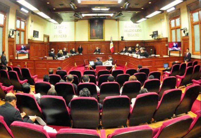 SCJN recibe controversia por Ley de Seguridad Interior