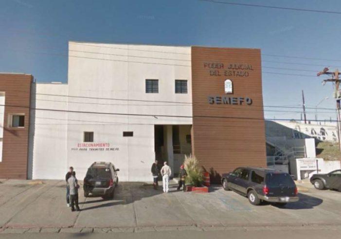 Semefo de Tijuana está rebasado, cuerpos se almacenan en pasillos